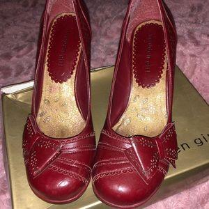 red high heel
